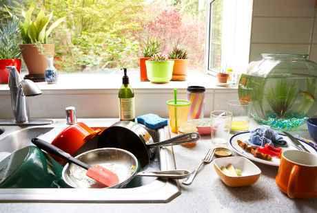 Menghilangkan bau dapur rumah
