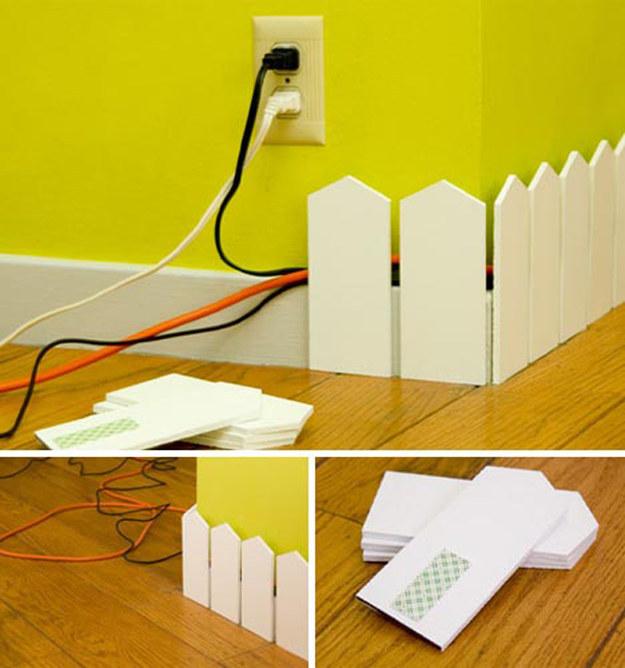 Menyembunyikan Kabel Dalam Rumah Dengan Rapi