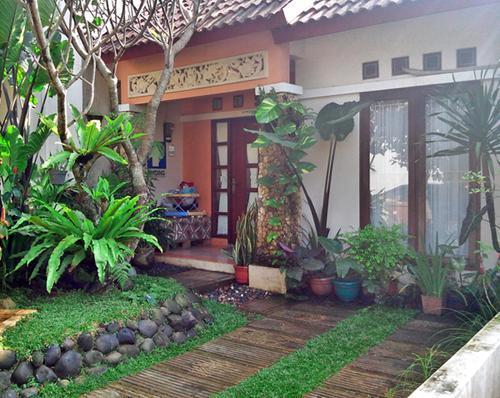 Jual Rumah Nuansa Bali Di Bojong Sari Depok 2 1 Kamar Tidur 1308