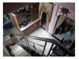 Ruang makan, dapur dan tangga, tampak dari atas
