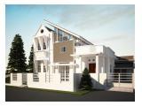 Dijual Rumah Mewah Unik dan Modern Tidak Ada Duanya - 2Lt Baru Renov (Strategic Location)