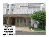 Jual rumah Kelapa Gading (Grand Orchard) 8x17m, 2 lantai, Full Furnished