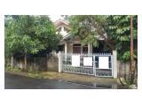 Jual rumah Rawamangun 364m 1lantai, jlnnya gede