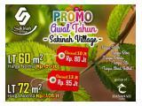Tanah Kavling Ekonomis di Lokasi Strategis dekat Harvest City Bekasi