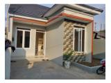 Rumah Baru Hanya 5 unit Harga bawah 1 M Gudang air Jakarta Timur