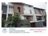 Dijual rumah di Grand pinang - 3 Kamar tidur daerah dekat MRT lebak bulus Pondok Indah