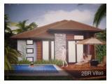 Dijual VILLATEL Awang Paradise Lombok Timur - Studio / 1 / 2 BR