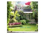 House in Strategic Location with Nice Beautiful Garden at Jl. Lombok-Menteng For Sale