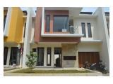 Rumah Desain Modern 2 Lantai Siap Huni Sangat Strategis Cocok Untuk Keluarga Modern